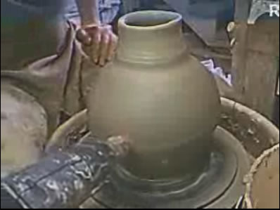 Raku pottery Webcam photo 1