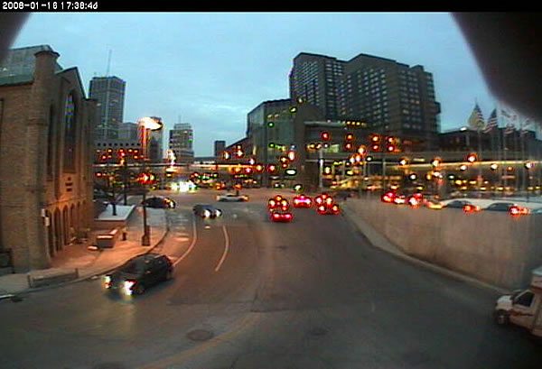 Detroit Tunnel  webcam photo 1