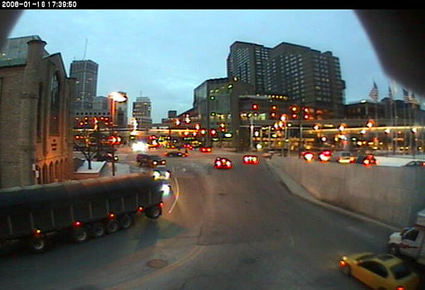 Detroit Tunnel  webcam photo 2