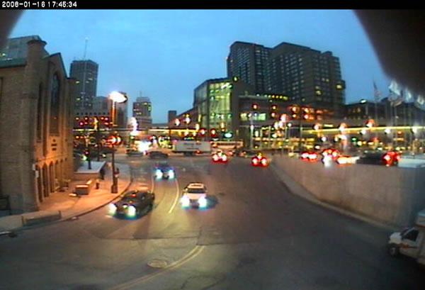 Detroit Tunnel  webcam photo 4
