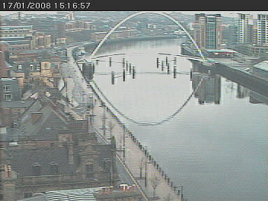 The Gateshead Millenium Bridge Cam photo 1