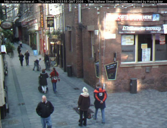 Mathew Street Webcam photo 5