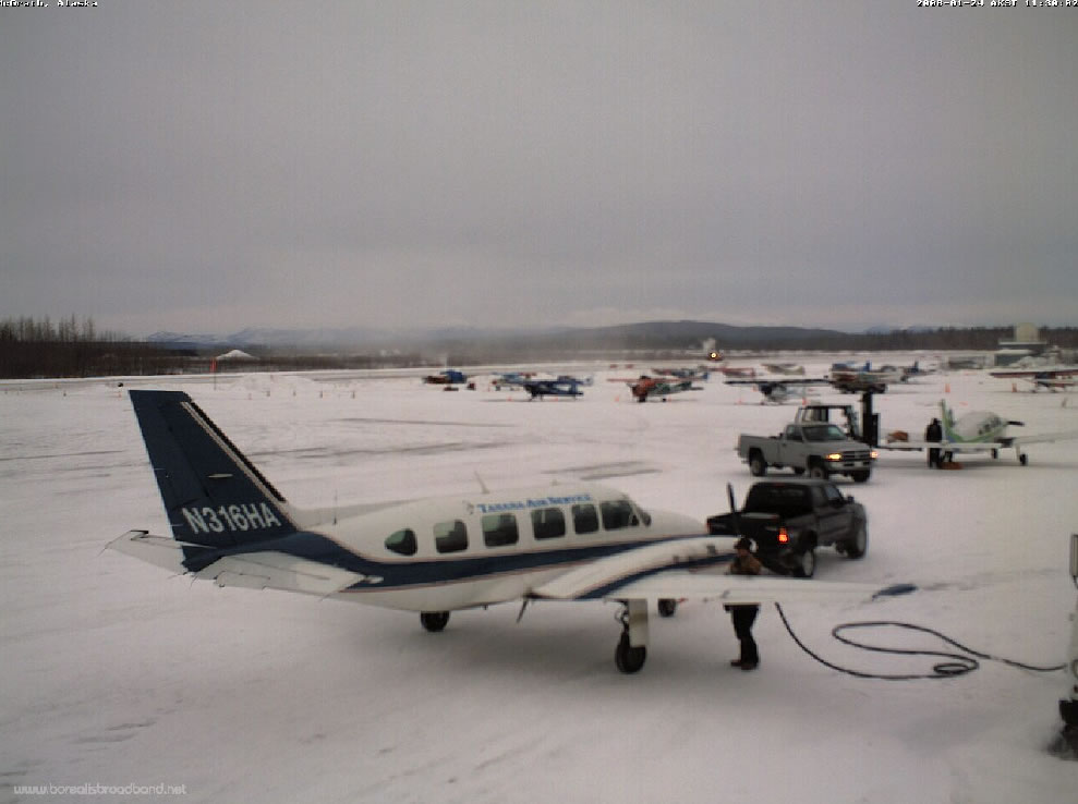McGrath, Alaska - Airport Ramp photo 2