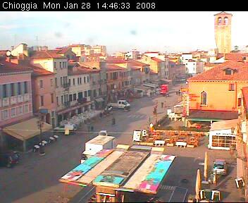 Chioggia - Corso del Popolo e Piazza Granaio photo 1