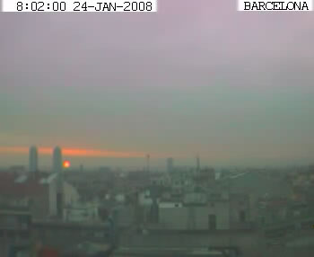 Barcelona webcam photo 3