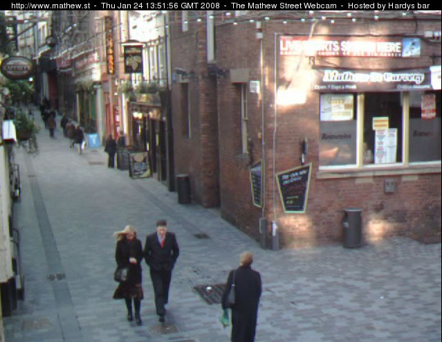 Mathew Street Webcam photo 3