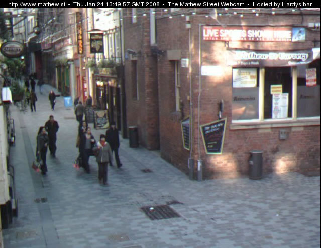 Mathew Street Webcam photo 1
