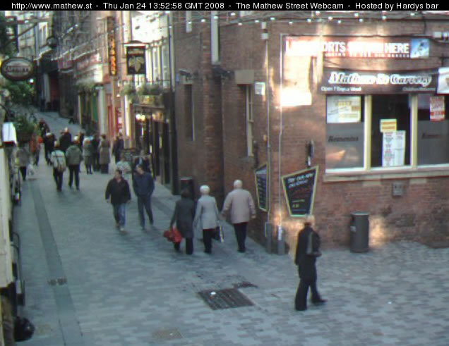 Mathew Street Webcam photo 4