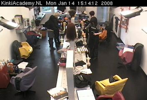 beauty salon cam