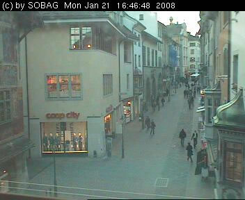 Vordergasse WebCam photo 1