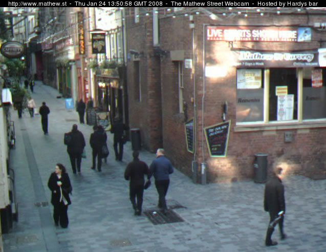 Mathew Street Webcam photo 2