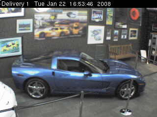 Corvette Museum - New 'vette awaiting delivery photo 2