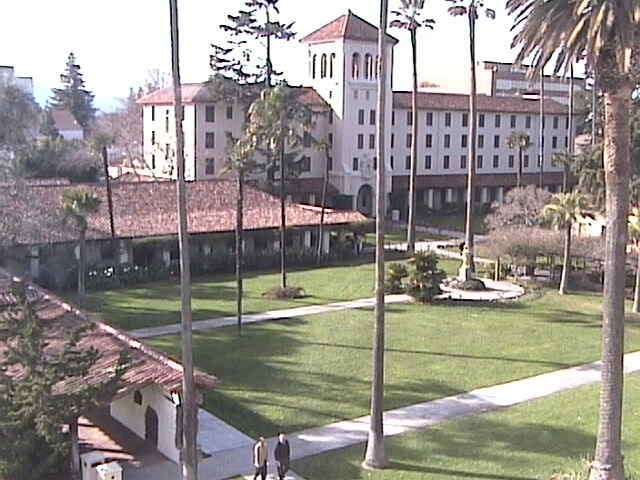 Santa Clara University WebCam photo 2