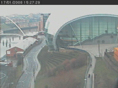 The Gateshead Millenium Bridge Cam photo 3