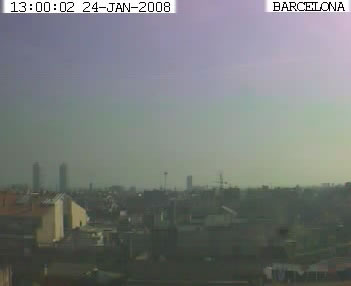 Barcelona webcam photo 2