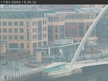 The Gateshead Millenium Bridge Cam photo 2