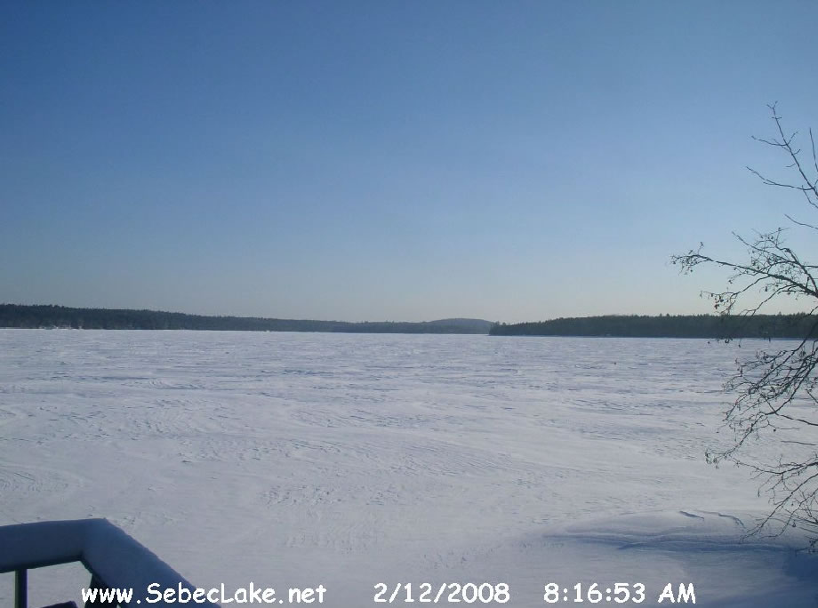 Sebec Lake Webcam photo 2