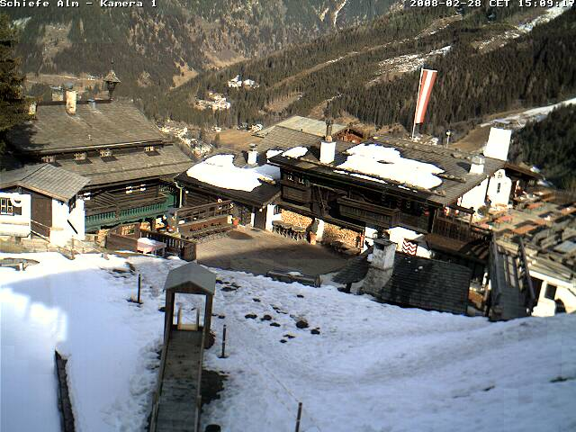 Webcam Bellevue Alm in Bad Gastein photo 3