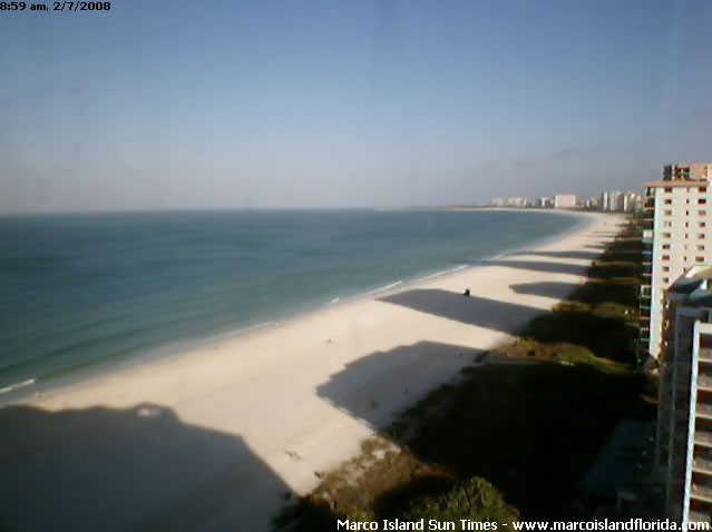Marco Island Beach Cam photo 1