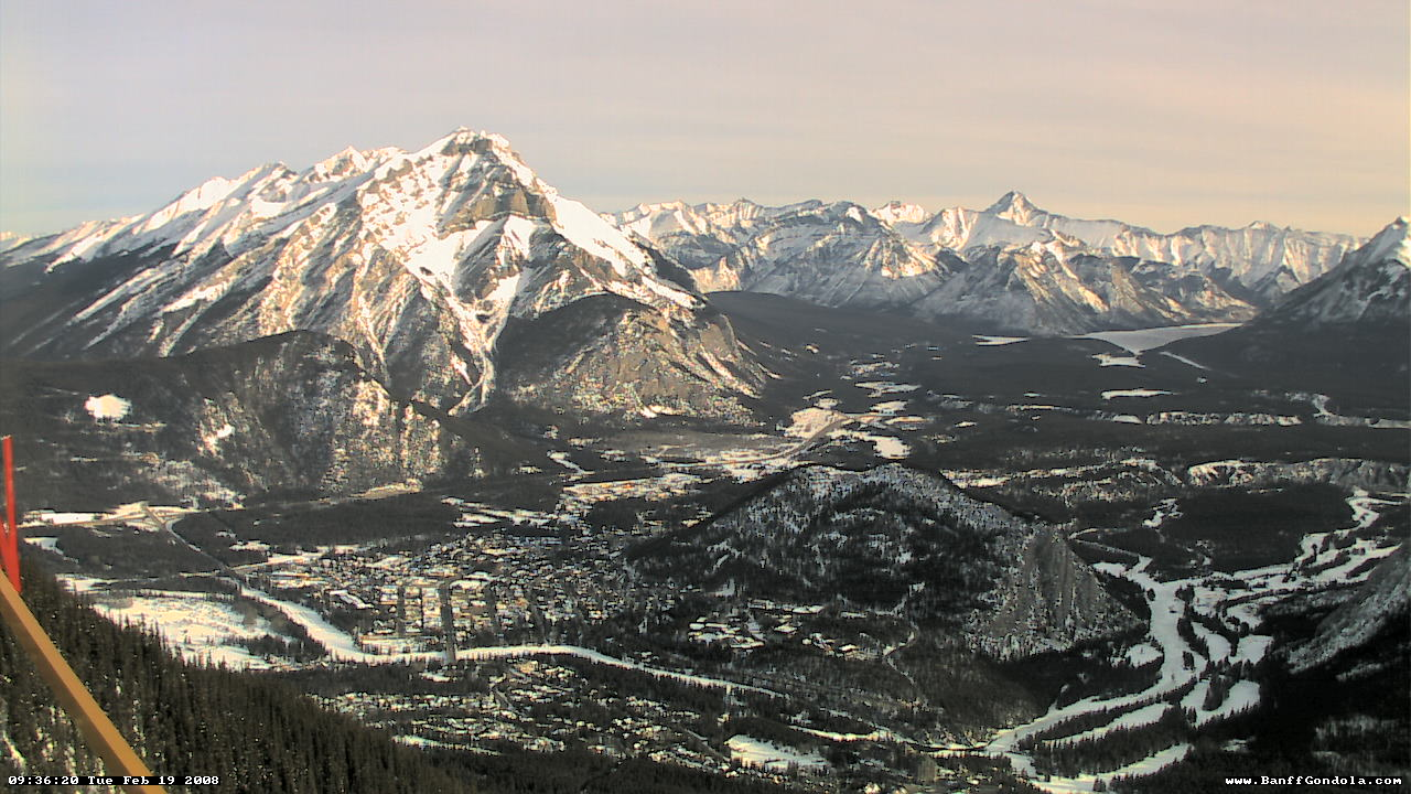 Banff - Sulphur Mountain WebCam photo 4