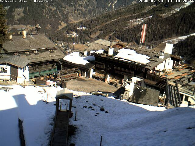 Webcam Bellevue Alm in Bad Gastein photo 2