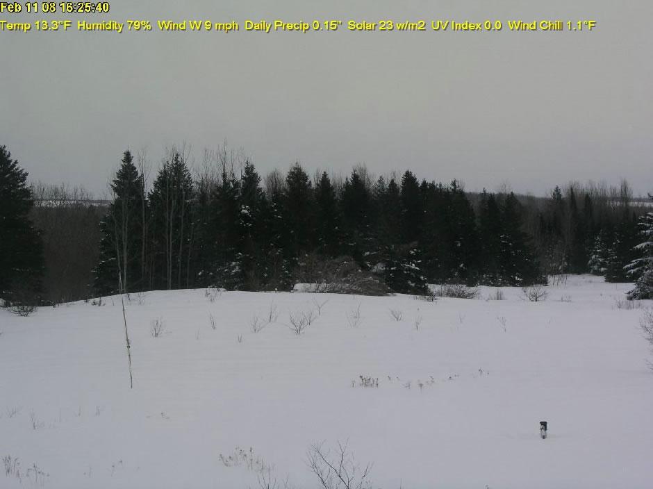 Monticello, Maine WeatherCam photo 1