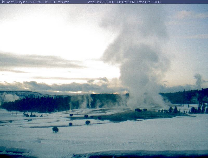 Old Faithful Webcam photo 4