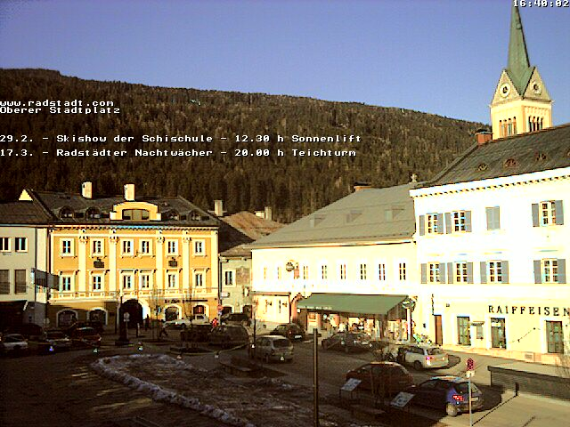 Webcam Radstadt Stadtplatz II photo 1