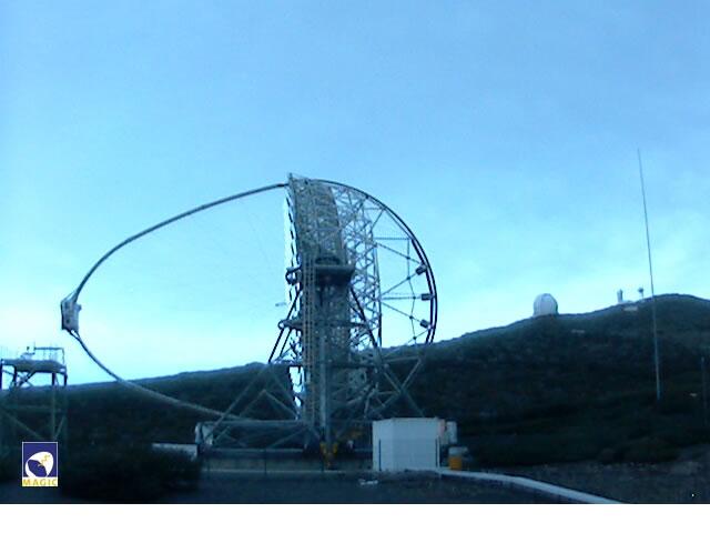 Imaging Atmospheric Cherenkov Telescope - MAGIC 1 Webcam photo 1