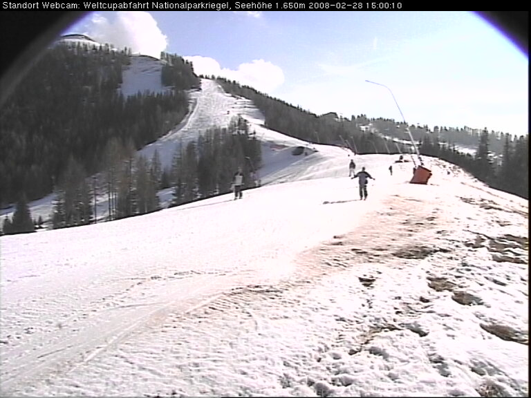 Weltcupabfahrt Webcam photo 2