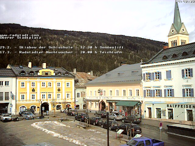 Webcam Radstadt Stadtplatz II photo 4