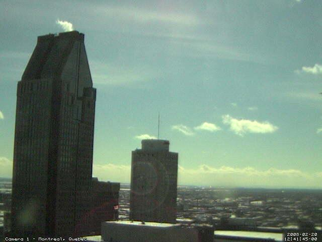 Downtown Montreal Webcam photo 1