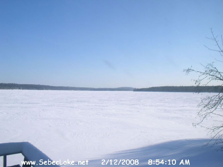 Sebec Lake Webcam photo 1