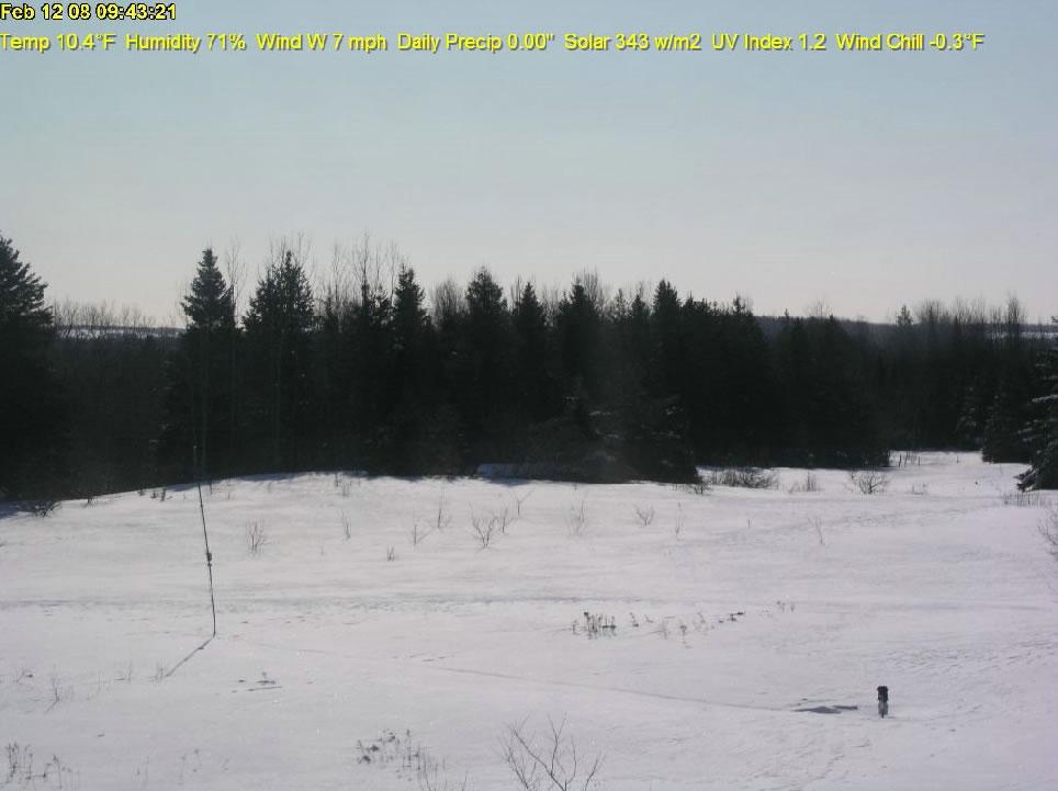 Monticello, Maine WeatherCam photo 5