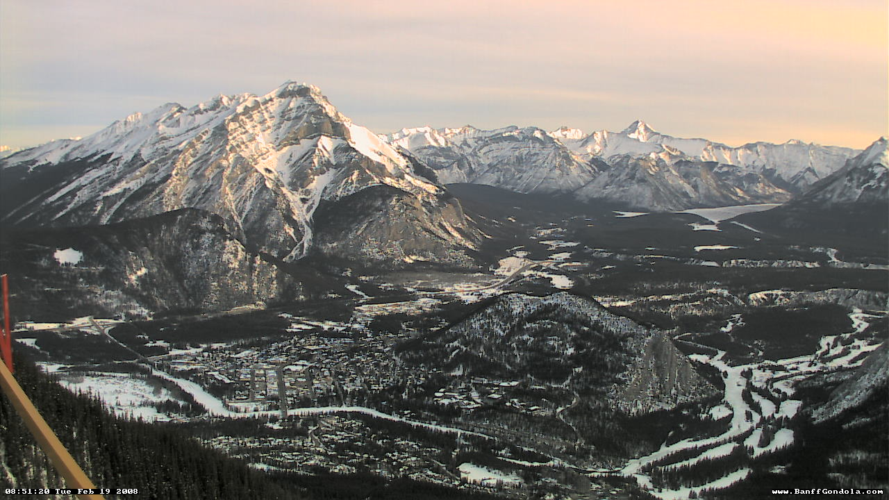 Banff - Sulphur Mountain WebCam photo 3