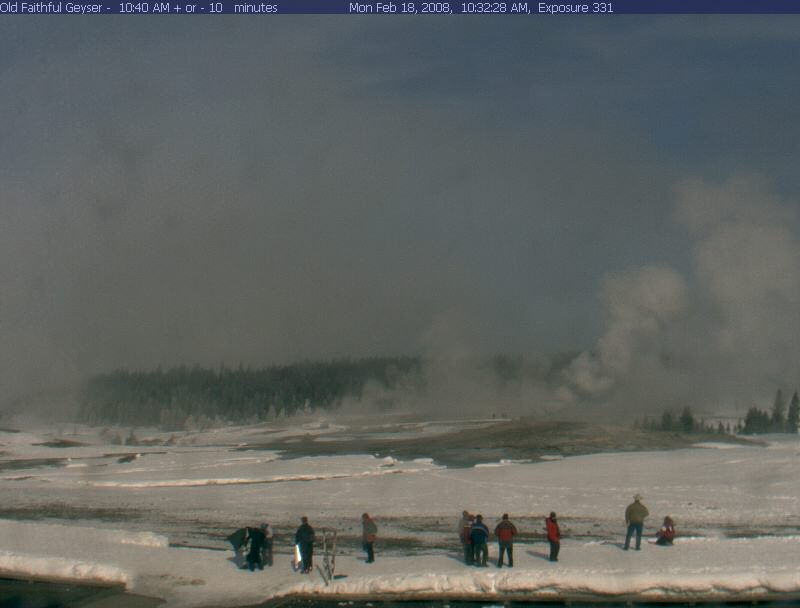 Old Faithful Webcam photo 2