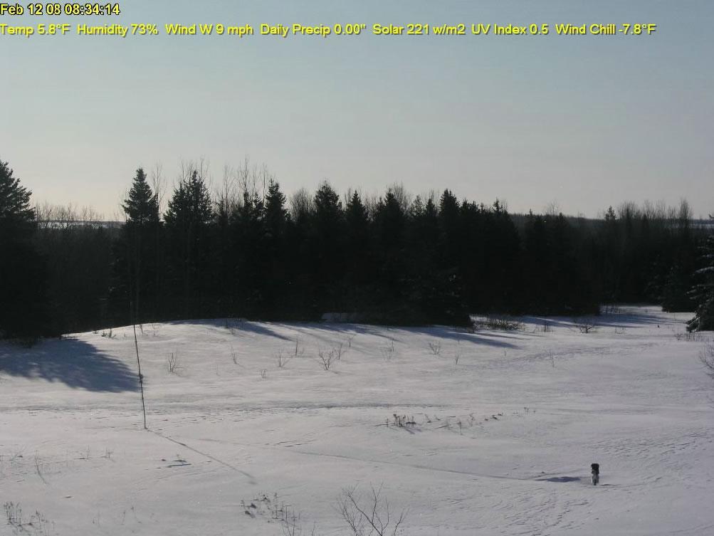 Monticello, Maine WeatherCam photo 4