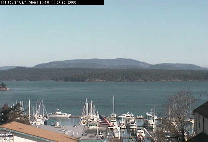 Friday Harbor Tower Cam photo 6