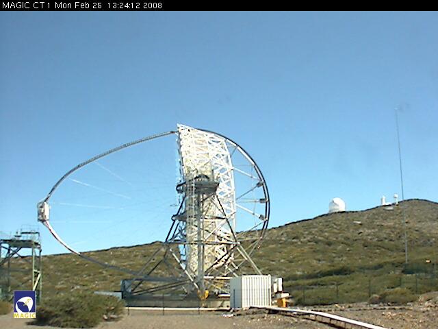 Imaging Atmospheric Cherenkov Telescope - MAGIC 1 Webcam photo 3
