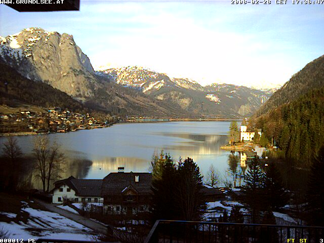Webcam Lake Grundlsee photo 1