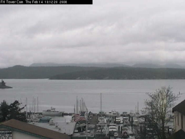 Friday Harbor Tower Cam photo 1