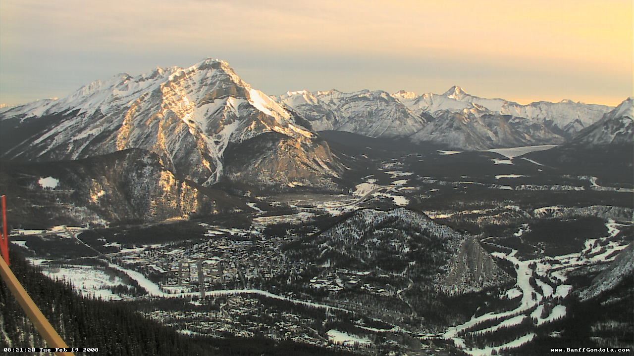 Banff - Sulphur Mountain WebCam photo 1