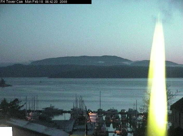 Friday Harbor Tower Cam photo 3
