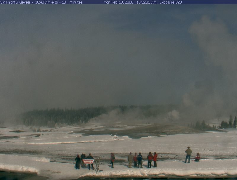 Old Faithful Webcam photo 1
