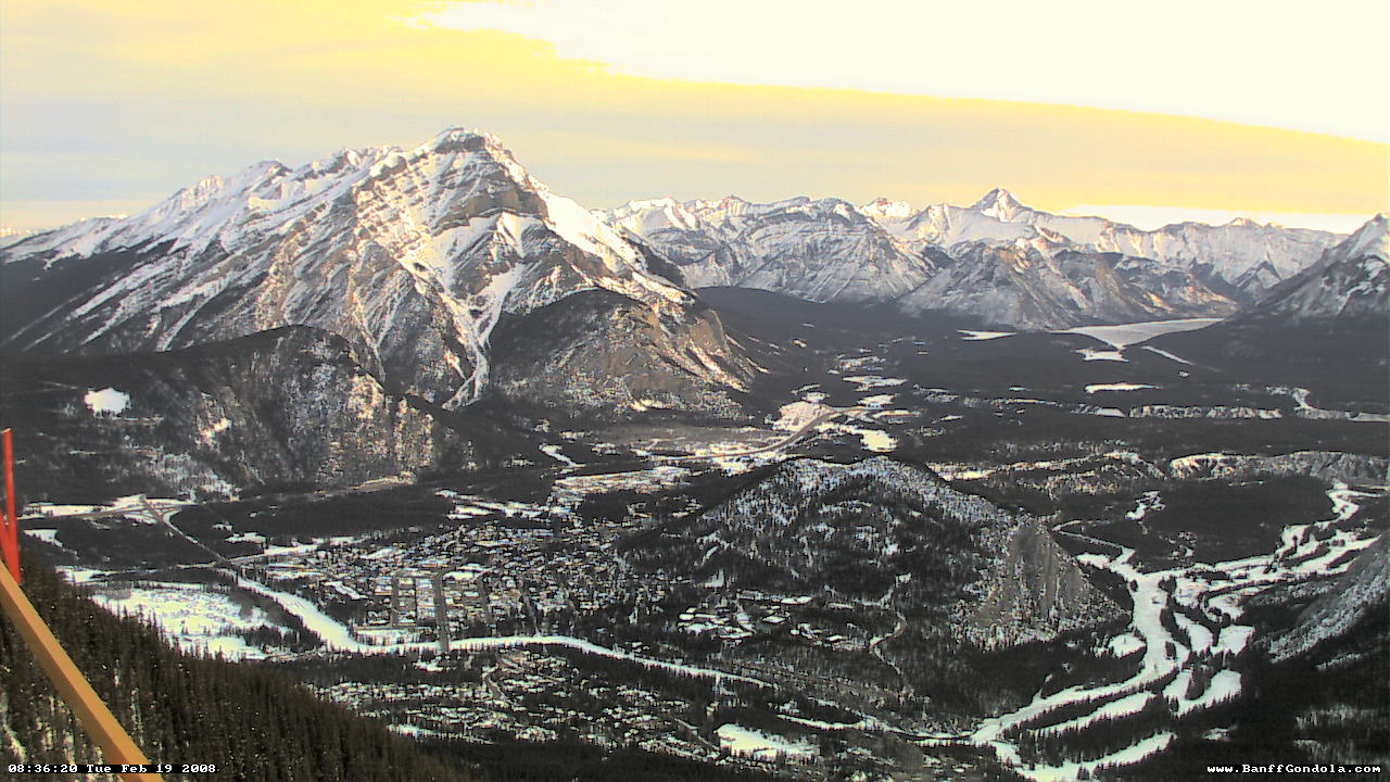 Banff - Sulphur Mountain WebCam photo 2