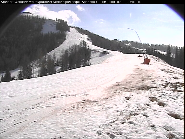 Weltcupabfahrt Webcam photo 1