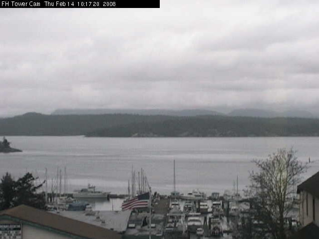 Friday Harbor Tower Cam photo 2