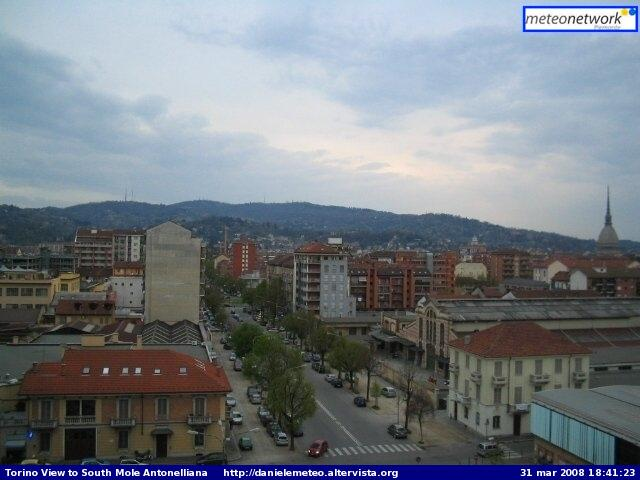 Torino city webcam photo 2