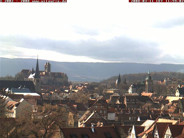 Quedlinburg webcam photo 4
