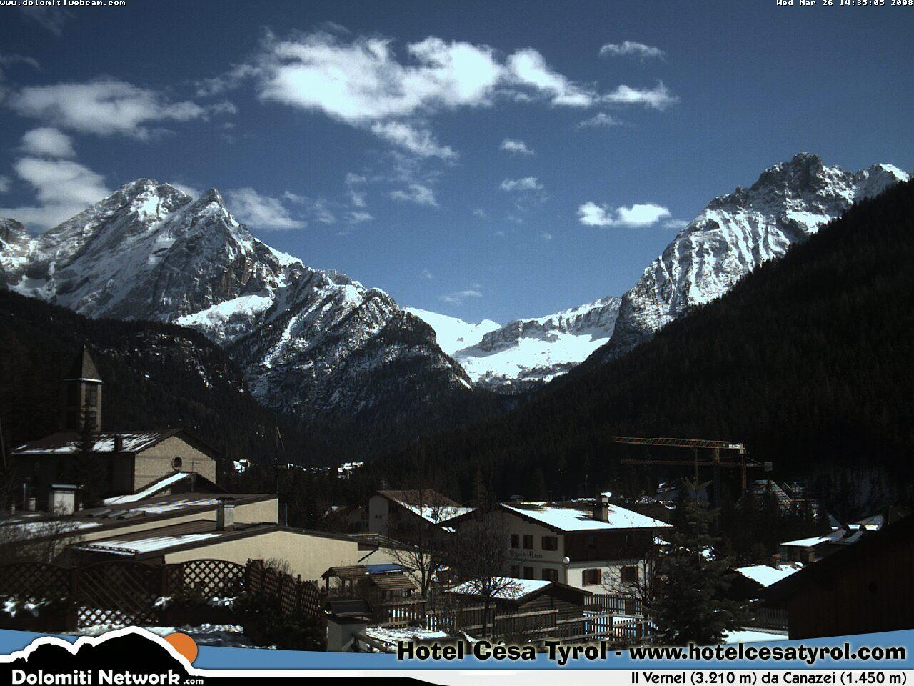 Canazei webcam photo 1